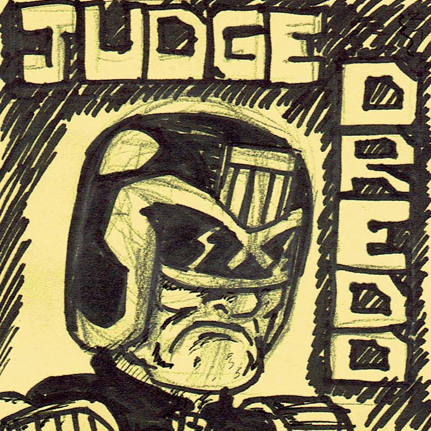 Judge Dredd by Bleu-Ninja