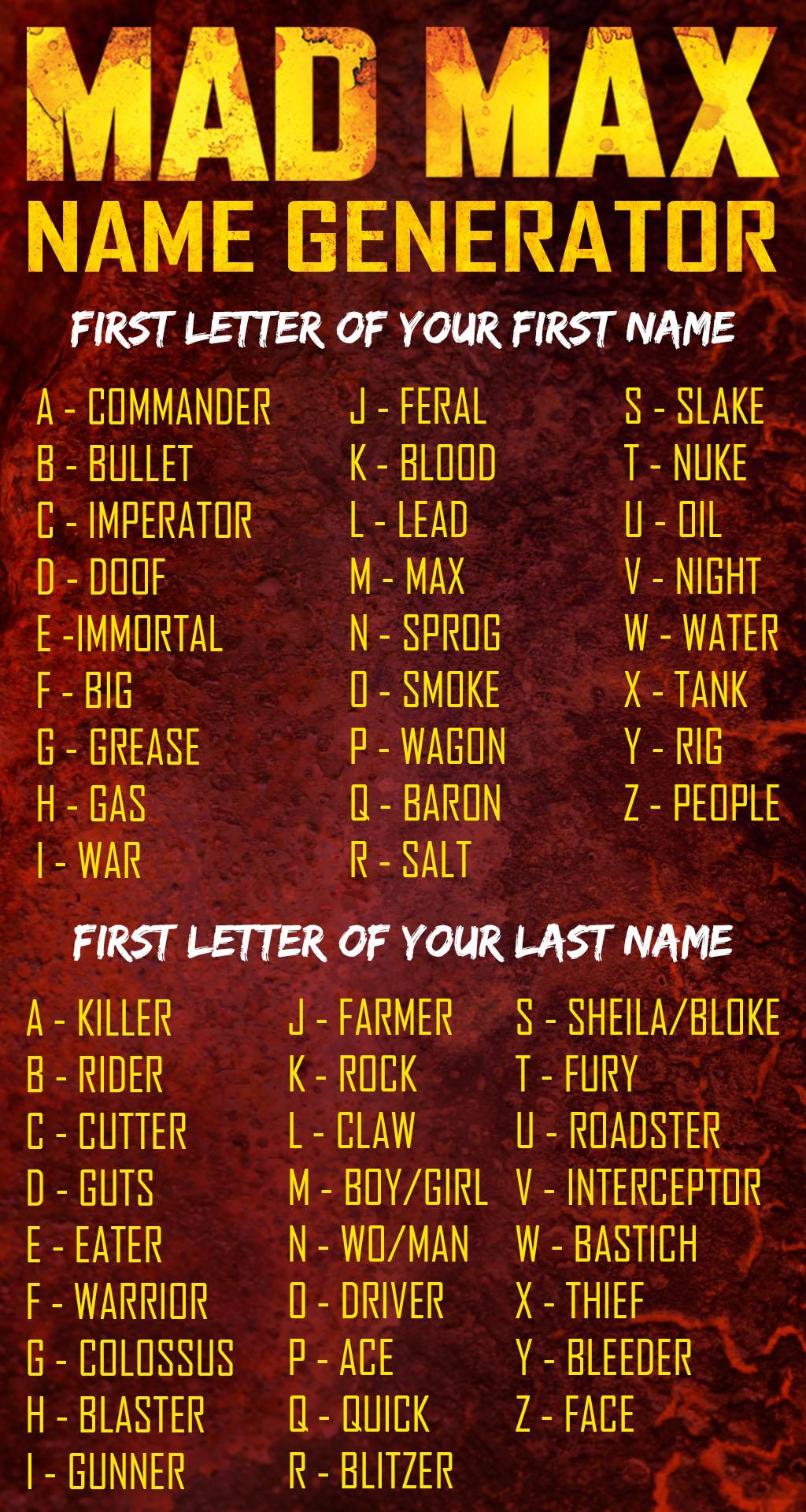 name generator nickname