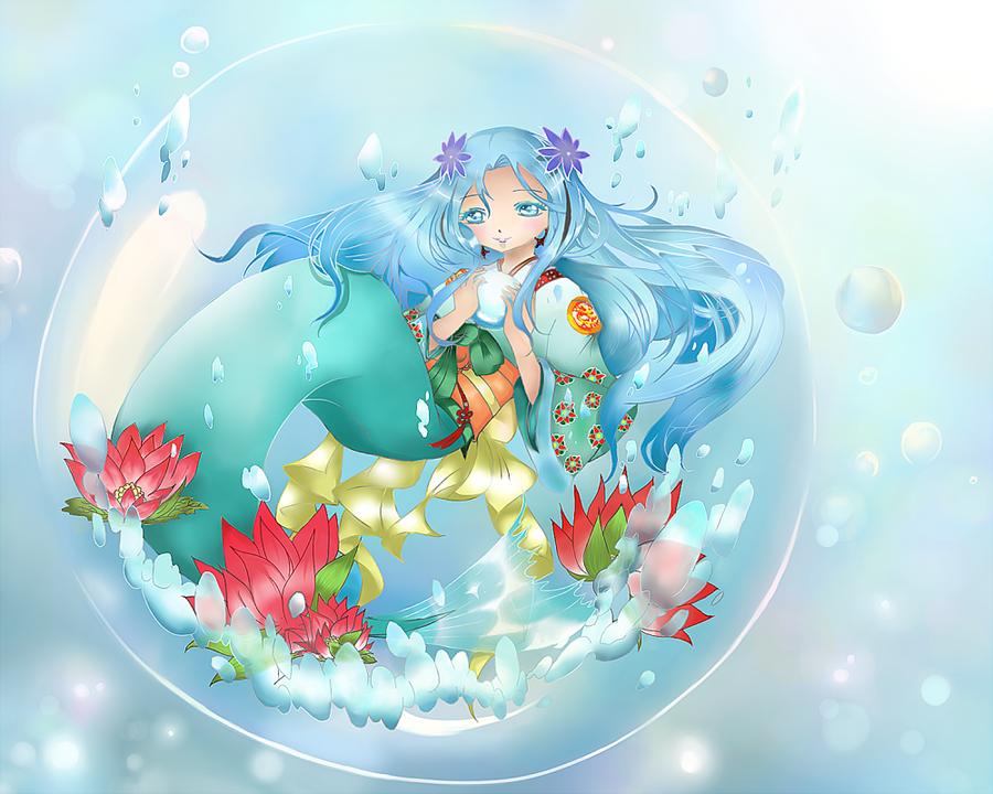 The Sea's Treasure by ice10cream