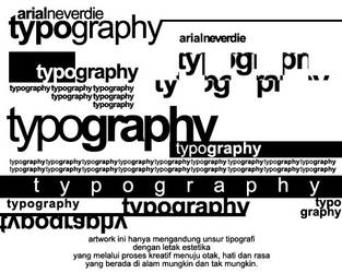 typography by AnDhika333