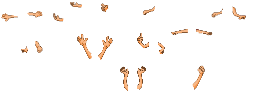 Fantage arm poses [Credit appreciated] by AlyssaApples