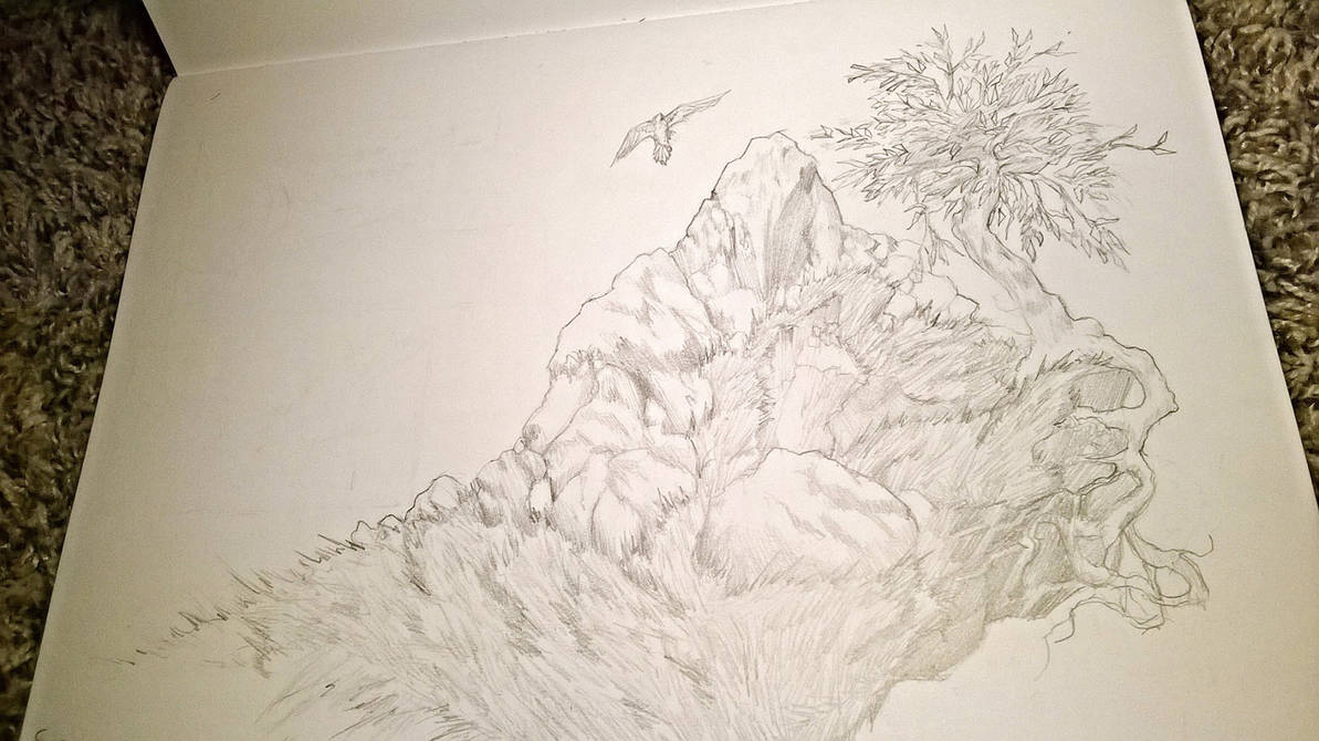 Environment pencil drawing by artisthopeful