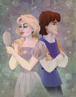 Young Derek and Odette (Swan Princess)