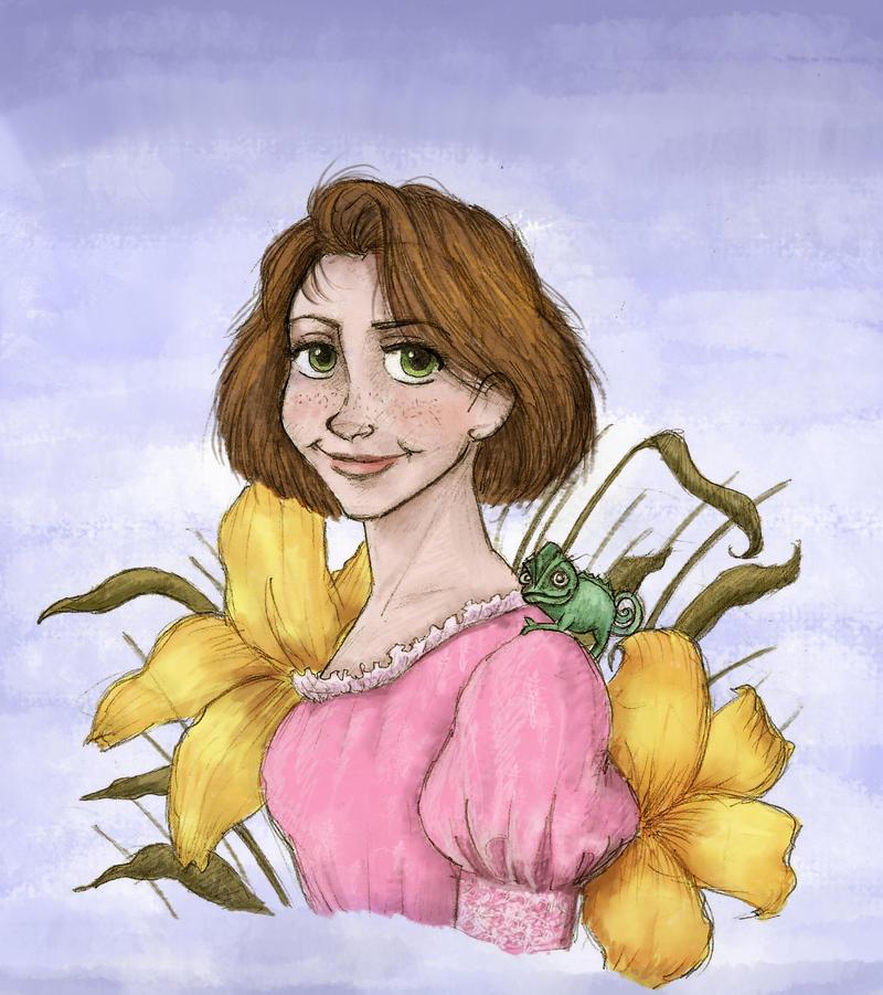 A Princess at Heart - Rapunzel by irina-bourry on DeviantArt