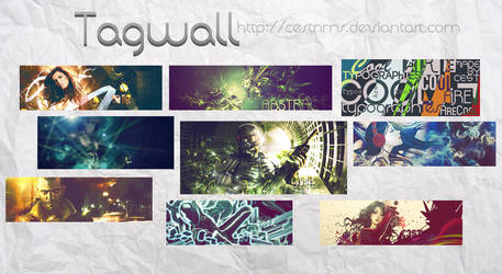 Tagwall Aug 24 by cestnms