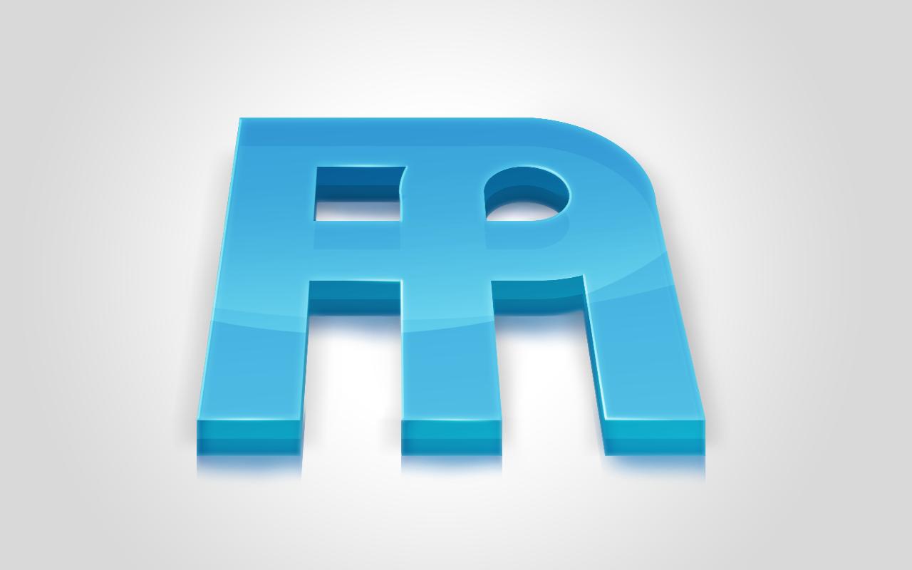 personal logo 3d...H Logo 3d