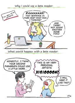 Beta readers got it hard ...
