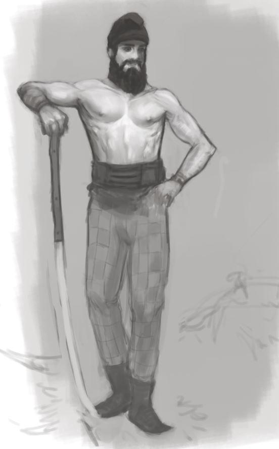 Dacian Soldier Concept WIP by AxiDaos