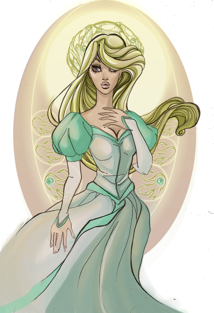 Swan Princess by AuroraElocin