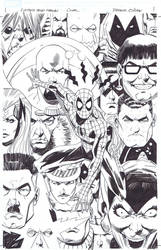 Untold tales of Spider-man Omnibus cover by PatrickOlliffe