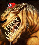 The REAL Super Mario Odyssey T-Rex by DarkOverlord1296