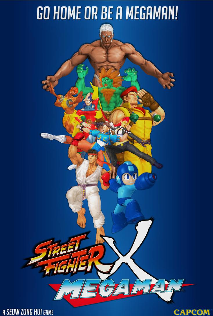 STREET FIGHTER x MEGAMAN by DarkOverlord1296