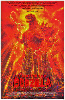 THE RETURN OF GODZILLA (Fan-made English poster)