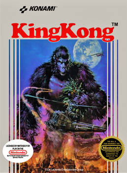 King Kong (Fan-made NES cover)
