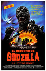 EL RETORNO DE GODZILLA (Fan-made Spanish poster)