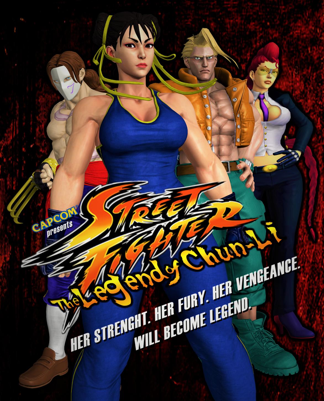 Street Fighter The Legend Of Chun Li By Darkoverlord1296 On