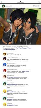 KINGSTAGRAM ~ Yuffie's Long-Lost Twin?