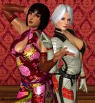 ANNA/CHRISTIE: Flirtatious Femme Fatales by DarkOverlord1296