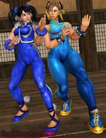 CHUN/XIAOYU: Tag Team Alpha