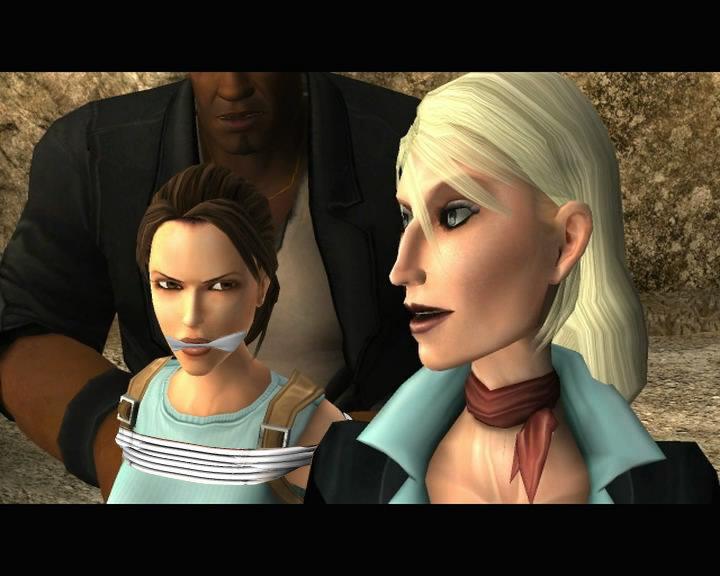 Lara croft captured by paon15