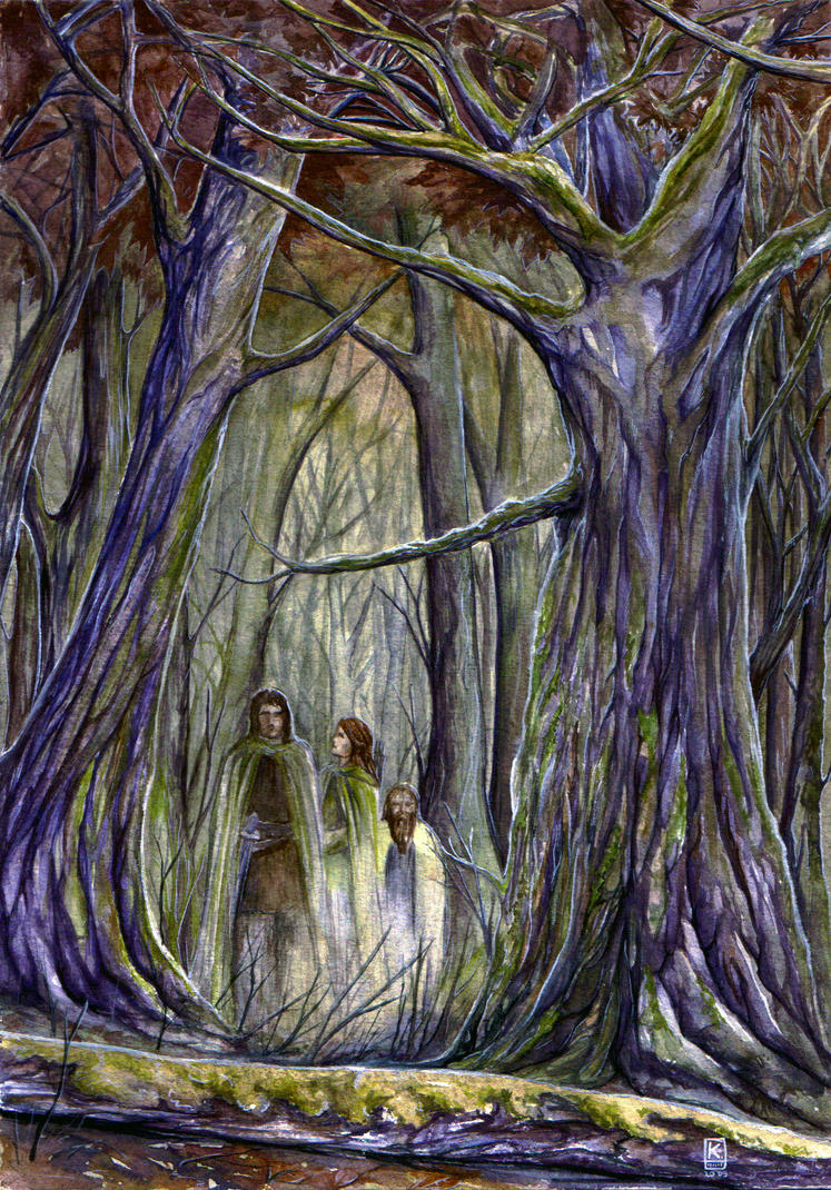 Fangorn forest by Bandea
