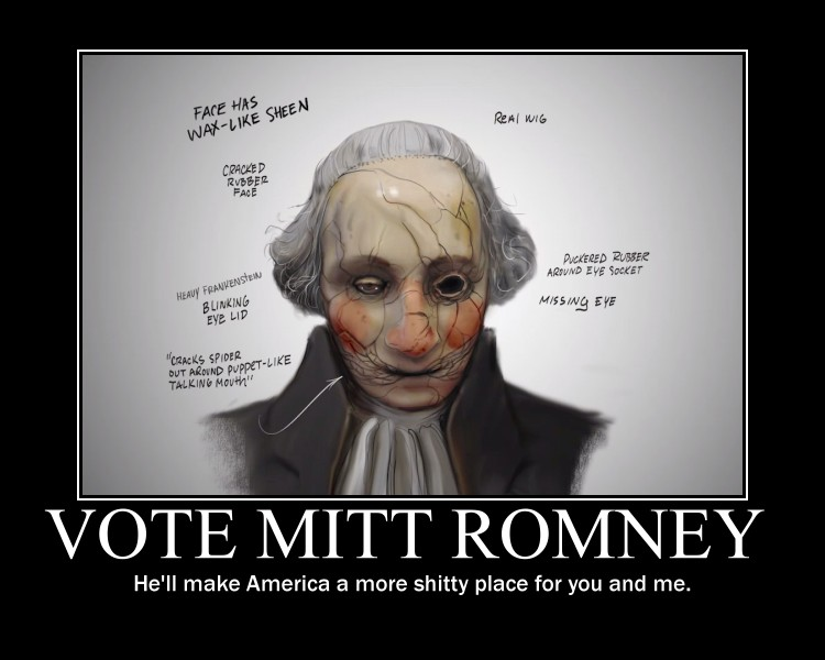Mitt Romney demotivator by Master-of-the-Boot