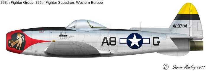 P-47 Jet Fran