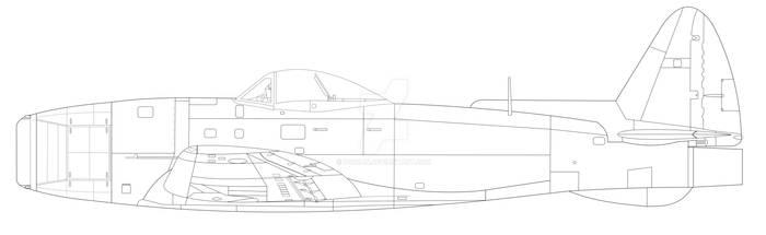 P-47 Jet vectored