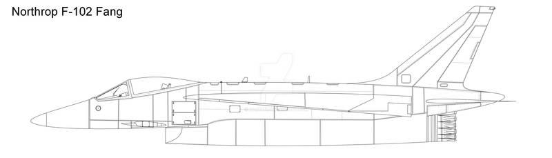 F-102 Fang blank