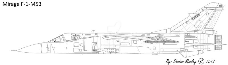 Mirage F-1-M53