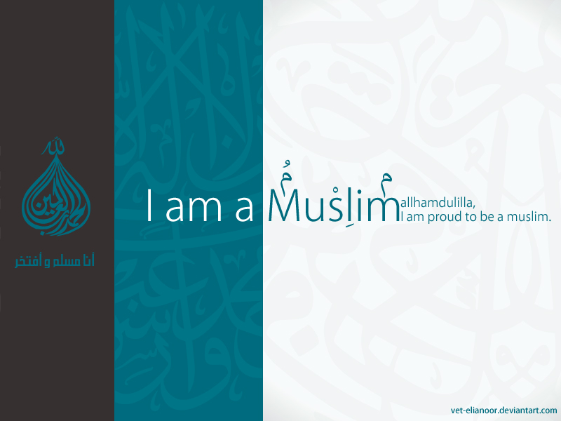 Image of muslim and Proud