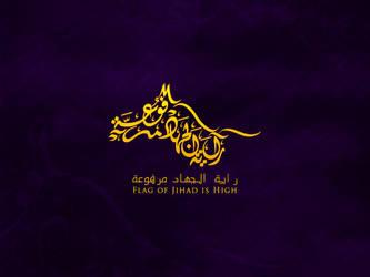 Flag of Jihad is High by noorsalah