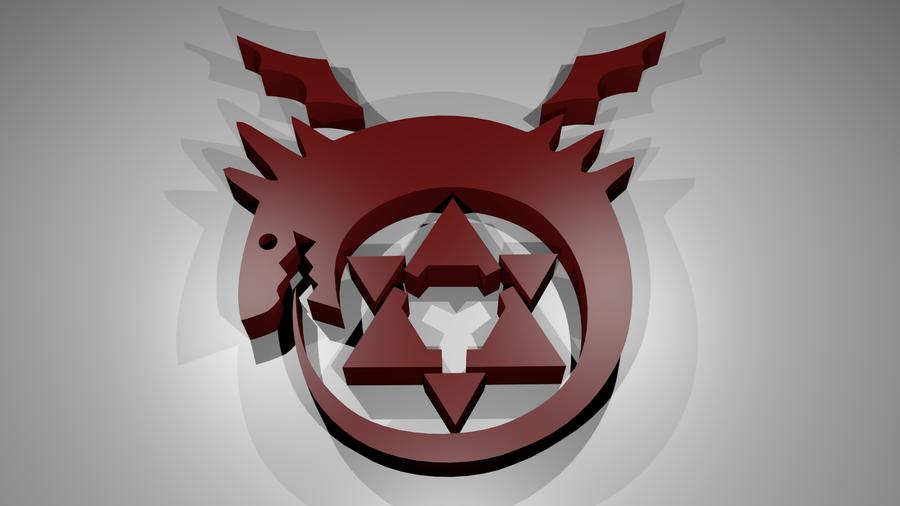 Full Metal Alchemist Homunculus Symbol By Dark Grimmjow22 On Deviantart