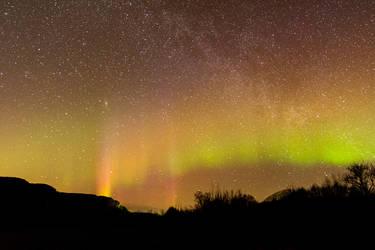 A starry night.1 by Dirhael
