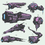 Spaceships stylized AS thumb