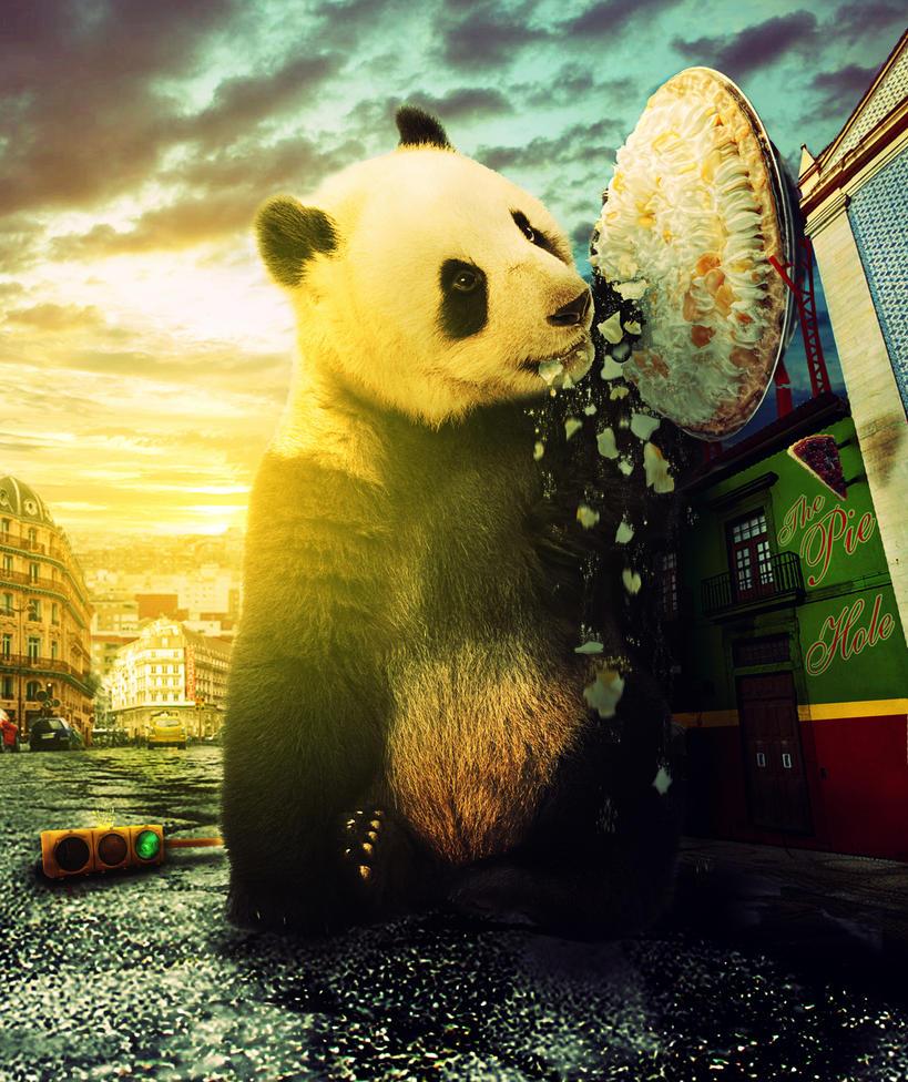 Giant Panda by jaspeck