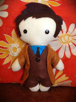 Tenth Doctor Plushie by jasmineofderpsalot