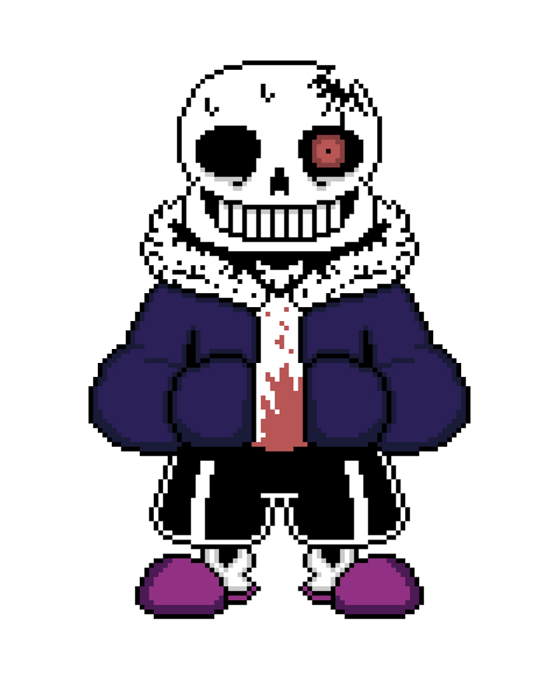 HorrorTale Sans (Updated    Again    ) by DaikaijuKing2004 on DeviantArt