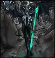 Demon of Despair by TashasStuff