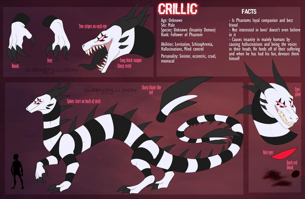 Crillic Ref 2018 by QueenOfIllusion on DeviantArt
