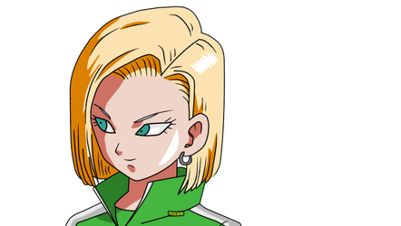 Android 18 Dragon Ball Super PNG