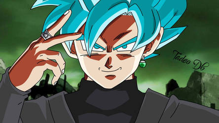 Goku Black Saiyajin Blue - SSGSS