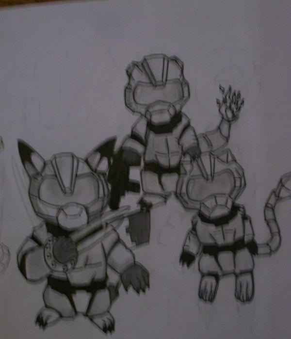 Halo Pokemon by MewXGirl