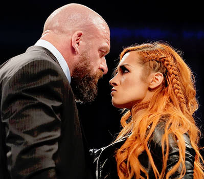 Becky Lynch and Triple H by WWE-WOMENS02