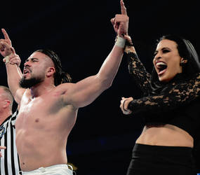 Andrade and Zelina Vega by WWE-WOMENS02