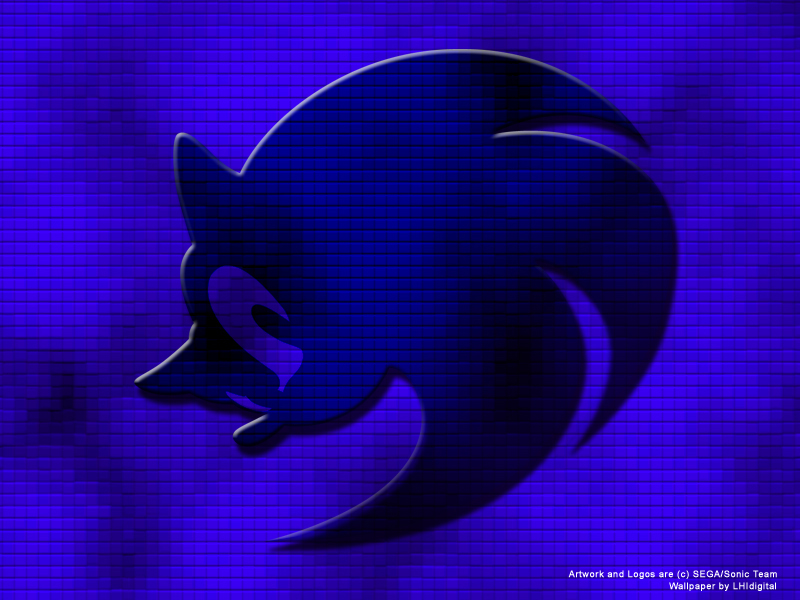 Sonic Logo Wallpaper By Lhidigital On Deviantart