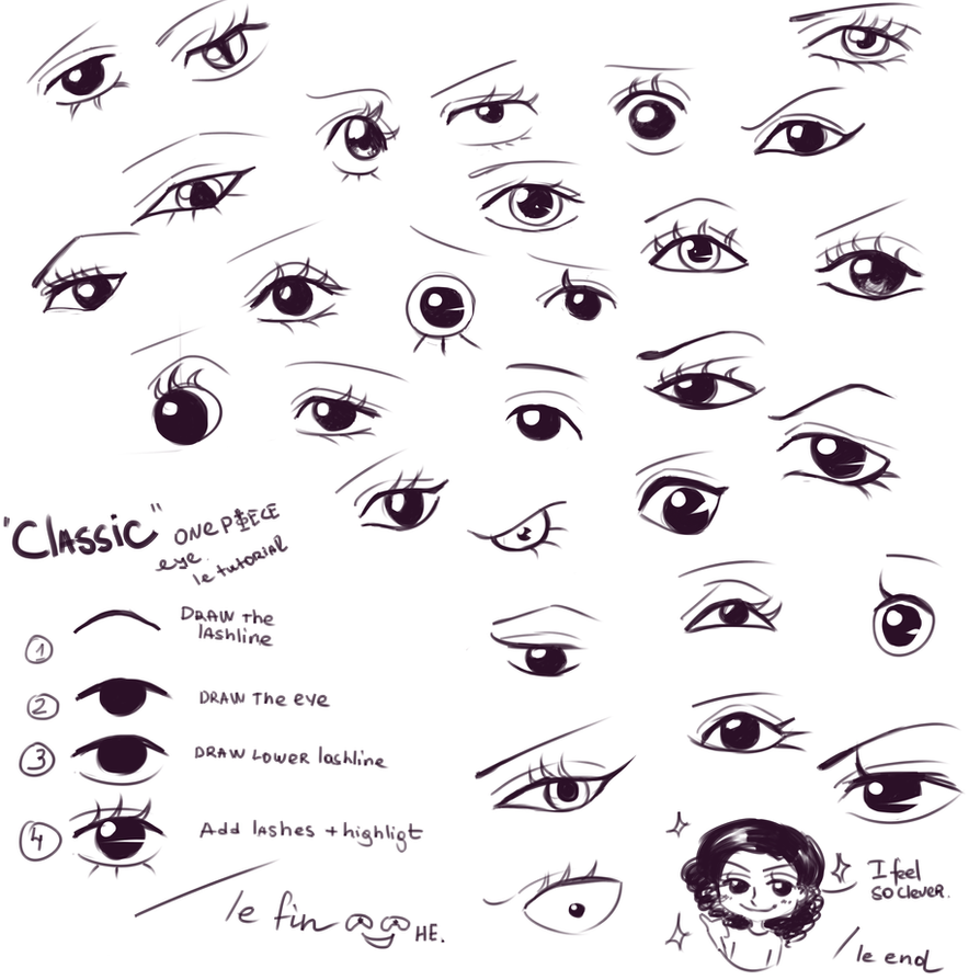 One Piece eyes by Mowwiie