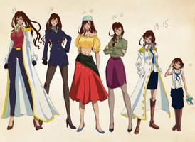 OC - Serafina timeline by Mowwiie