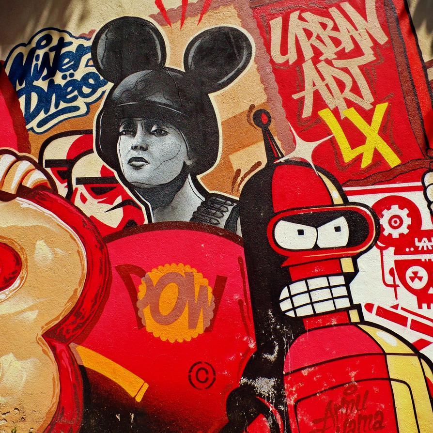 Urban Art Lx by keinziel