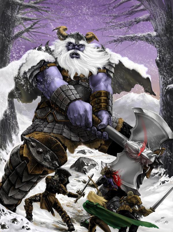 Frost Giant by natebarnes